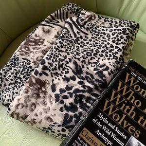 3 for $20! Furry-lined Animal Print Leggings EUC